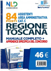 regione toscana 84 assistenti area amministrativa cat. c