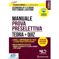 concorso ordinario secondaria - manuale preselettiva