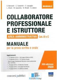 collaboratore professionale e istruttore - manuale per la prova scritta e orale