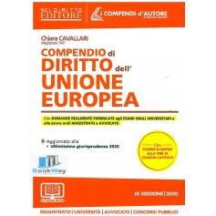 compendio di diritto dell' unione europea