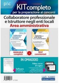 Concorsi per Collaboratore professionale e Istruttore negli Enti Locali Area Amministrativa Kit