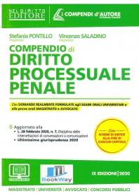 compendio di diritto  processuale penale 2020