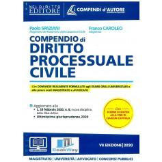 compendio di diritto processuale civile 2020