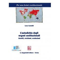 l'autodichia degli organi costituzionali. assetti, revisioni, evoluzioni