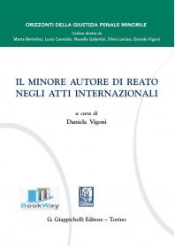 minore autore di reato negli atti internazionali (il)