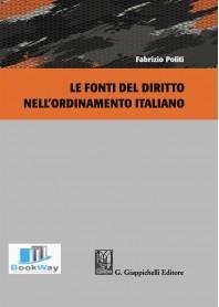 fonti del diritto nell'ordinamento italiano (le)