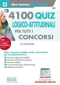 4100 Quiz Logico-Attitudinali Tutti i Concorsi
