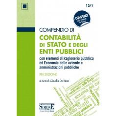 Compendio di Contabilità di Stato e degli Enti Pubblici di De Rosa
