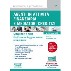 Agenti in Attivita' Finanziaria e Mediatori Creditizi Manuale e Quiz di Burrattini