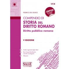 Compendio di Storia del Diritto Romano di Del Giudice
