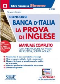 Concorso Banca d'Italia Prova di Inglese Manuale di Ciotola