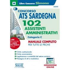 Concorso ATS Sardegna 102 Assistenti Amministrativi Categoria C