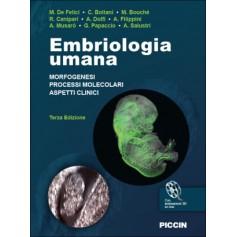 Embriologia Umana di De Felici,  Boitani,  Bouchè, Canipari,  Dolfi, Filippini, Musarò, Papaccio, Salustri