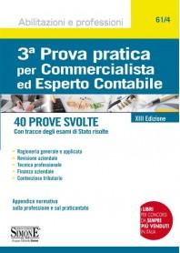 Terza Prova Pratica per Commercialista ed Esperto Contabile