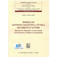 modelli di gestione collettiva a tutela dei diritti d'autore