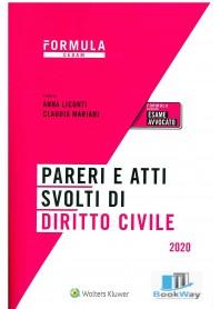 atti e pareri svolti di diritto civile 2020