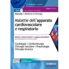 Manuale di Medicina e Chirurgia Tomo 1 Malattie dell'Apparato Cardiovascolare e Respiratorio di Frusone, Puliani