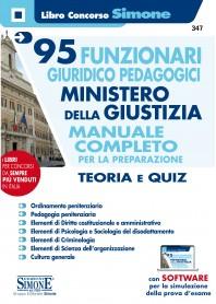 Concorso 95 Funzionari Profilo Giuridico-Pedagogico nel Ministero della Giustizia