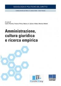 amministrazione, cultura giuridica e ricerca empirica