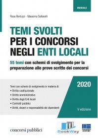 temi svolti per i concorsi negli enti locali 2020
