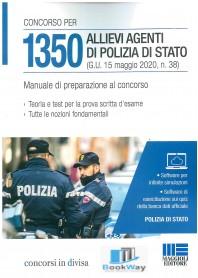 1350 allievi agenti di polizia di stato. manuale di preparazione al concorso