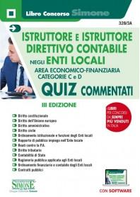 Istruttore e Istruttore Direttivo Contabile Enti Locali Quiz