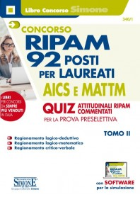 Concorso RIPAM 92 Posti per Laureati AICS e MATTIM Quiz Attitudinali RIPAM Commentati