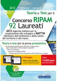 Concorso RIPAM 92 Laureati AICS e Ministero Ambiente Teoria e test per la Preselezione