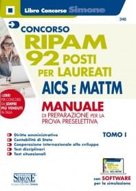 Concorso RIPAM 92 Posti per Laureati AICS e MATTIM Manuale