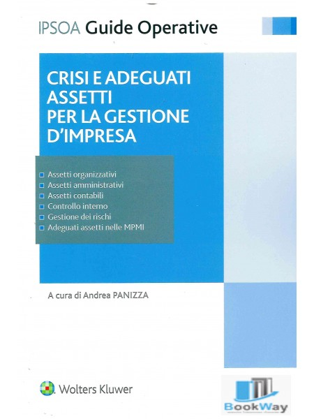 crisi  e adeguati assetti gestionali d'impresa