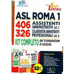 kit asl roma. 326 collaboratori cat. d e 406 assistenti amministrativi cat. c