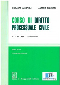 corso di diritto processuale civile.