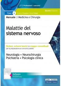 Manuale di Medicina e Chirurgia Tomo 6 Malattie del Sistema Nervoso di Frusone, Puliani