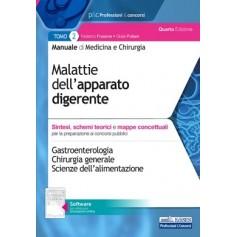 Manuale di Medicina e Chirurgia Tomo 2 Malattie dell'Apparato Digerente di Frusone, Puliani