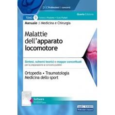 Manuale di Medicina e Chirurgia Tomo 9 Malattie dell'Apparato Locomotore di Frusone, Puliani