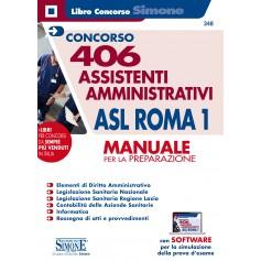 Concorso 406 Assistenti Amministrativi ASL Roma 1 Manuale