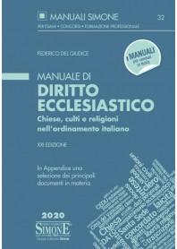 Manuale di Diritto Ecclesiastico di Del Giudice, Emanuele