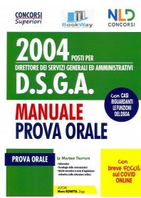2004 posti d.s.g.a. direttore dei servizi generali amministrativi