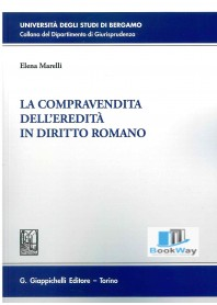 compravendita dell'ereditÀ in diritto romano (la)