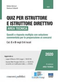 quiz per istruttore e istruttore direttivo. area tecnica.