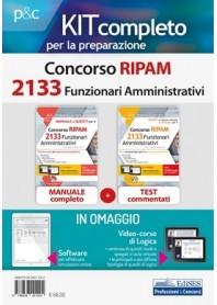 Concorso RIPAM 2133 Funzionari Amministrativi Manuale e Quesiti Kit
