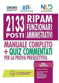 2133 posti ripam funzionari amministrativi .