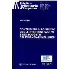 contributo allo studio degli interessi passivi e dei soggetti c.d. finanziari nell'ires