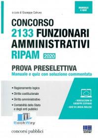 2133 funzionari amministrativi ripam - concorso 2020 -