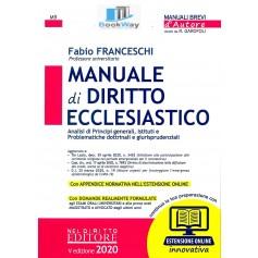 manuale di diritto ecclesiastico 2020