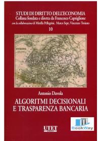 algoritmi decisionali e trasparenza bancaria