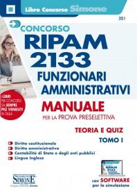 Concorso RIPAM 2133 Funzionari Amministrativi Manuale Prova Preselettiva