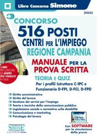 Concorso 516 Posti Centri per l'impiego Regione Campania Manuale Prova Scritta