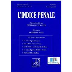 indice penale n. 1 2020 (l')