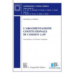 argomentazione costituzionale di common law (l')